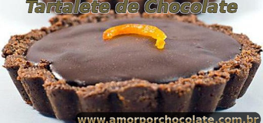 Tartalete de chocolate