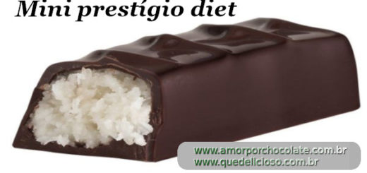 Mini prestígio diet