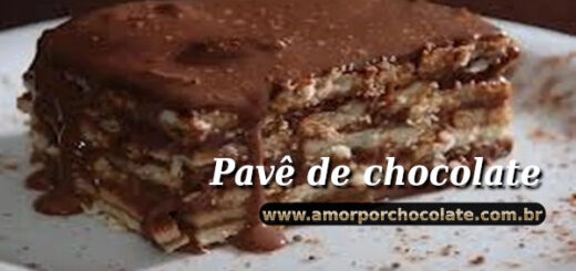 Pavê de chocolate
